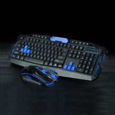 2.4G Gaming Multimedia Cordless Keyboard Wireless Optical Mouse Nano Receiver