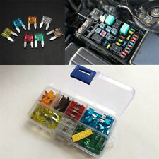 120 Pieces Car Truck Mini Blade Fuse Set (5 / 7.5 / 10 / 15 / 20 / 25 / 30 AMP)