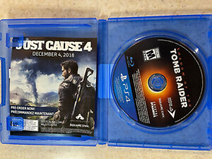 Shadow of The Tomb Raider Disc Only (Sony Playstation 4 / PS4, 2018)