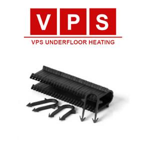 Underfloor Heating Pipe Tacker Staples 40mm-60mm - 300 box - 14-20mm PEX/PERT