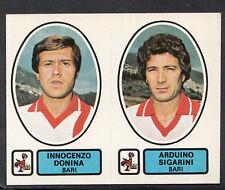 PANINI CALCIATORI FOOTBALL Adesivo 1977-78, N. 374-BARI-Innocenzo DONINA