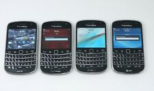 Lot of 4 Working Blackberry Bold 9900 / 9930 Qwerty Smartphones
