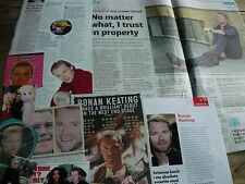 RONAN KEATING - MAGAZINE CUTTINGS COLLECTION (REF ZF)