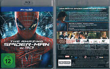 THE AMAZING SPIDER-MAN --- 3D-Blu-ray --- 3D + 2D Fassung --- Kinohit ---