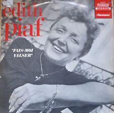 french 1960's LP-edith piaf-fais moi valse -chansons-made in israel !  phonodor