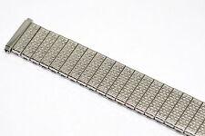 SPEIDEL 16-20MM EXTRA LONG SILVER TWIST O FLEX EXPANSION WATCH BAND STRAP
