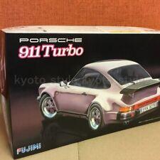 Fujimi Model 1/24 Real Sports Car RS-57 Porsche911 Turbo Plastic Model Kit JAPAN