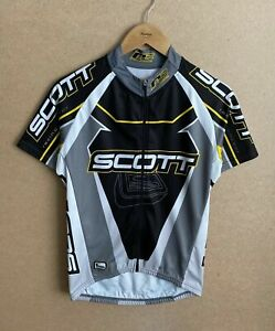 Scott USA Race Concept cycling jersey Short Sleeve shirt Men's size M Full Zip