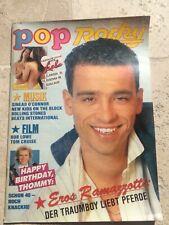 Pop Rocky 11 1990 Eros Ramazotti Madonna NKOTB NEW KIDS HASSELHOFF STANSFIELD