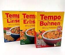 Auswahlprodukt - Tempo - Linsen, Bohnen, Erbsen - je 225g