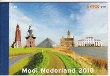 xxx NVPH Prestigeboekje nr. 29 - Mooi Nederland 2010. Cat.w. € 25,--