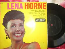 Lena Horne Sometimes I Feel Like A Motherless Child Bravo! BR 301 7inch Single