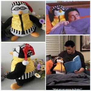 US! TV Series Friends Joey's HUGSY PENGUIN Rachel KIDS Plush Stuffed Xmas Toy