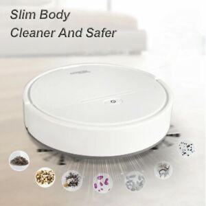 3 IN 1 Intelligent Robot Vacuum Cleaner Automatic Strong Suction Sweeper Smart