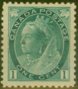 Canada 1898 1c Blue-Green SG151 Mtd Mint