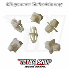 10x Türverkleidung Seitenschweller Clips Klammern für Volvo S40 V40 | 30808521