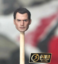 SH-SUP-MEZ: Manipple Henry Cavill Head neck and fists for Mezco One:12 Superman