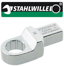 Stahlwille 732/40 SW 17mm Ring Insert Tool for Torque Wrench with 14x18mm