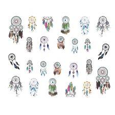 Nail Art Sticker Water Decals Transfer Stickers Indian DreamCatchers (STZ438)