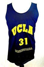 Team Edition Apparel Men's Ucla Reversible B-Ball Jersey Gold Blue Size Xl z