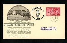 US Postal History Stagecoach Frink & Walker's Office West Line 1949 Chicago IL