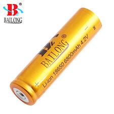 Batteria Ricaricabile Bailong ORO 18650 da 6800mAh Li-ion 4.2V Elevata Potenza