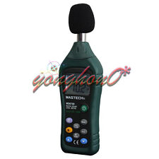 NEW MASTECH Digital Sound Level Meter MS6708 anallog bar 30 to 130dB backlight