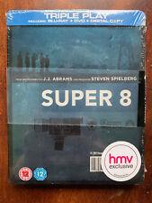 Super 9 Blu-ray Steelbook 2011 JJ Abrahams Teen Sci-Fi Movie BNIB