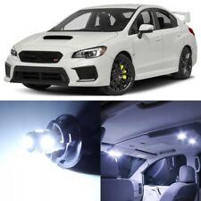 10 x Xenon White Interior LED Lights Package For 2015- 2018 Subaru WRX STI +TOOL