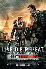 """Live Die Repeat: Edge of Tomorrow Movie Poster 18"""" x 28"""" ID:1"""