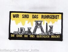 "Dortmund Aufnäher ""WIR SIND DAS..."" DO Kutte Fan Kurve Block + neu + 7 x 12 cm"