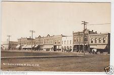 RPPC - Dallas, Oregon - Street Scene - early 1900s