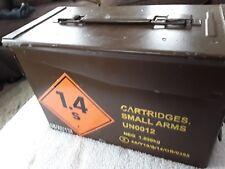 british army ammo box