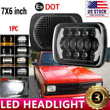 "7X6"" inch LED CREE Headlight Hi/Lo Replacement H6014 chevrolet s10 blazer Pickup"