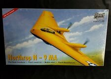 Sword Northrop N-9 MA 1:48 Scale #SW48001 Plastic Model Plane Kit