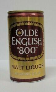 "Olde English ""800"" Malt Liquor 12 oz. Aluminum Steel Beer Can"