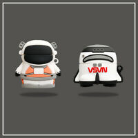 NASA Space Astronaut Rocket Silicone Case Cover For Apple Airpods Pro 1st & 2nd