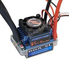 Hobbypower 60A SL V2 T Plug Brushless Speed Controller ESC for RC 1/10 1/12 Car
