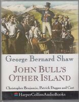 George Bernard Shaw John Bull's Other Island 2 Cassette Audio Book Abridged