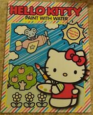 Hello Kitty Paint With Water Book FREE SHIP