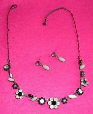 BNWT - LES NEREIDES NECKLACE & EARRING SET! SWING TAGGED.
