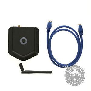 USED Kwikset 99240-001 Lock & Unlock Kevo Plus Connected Hub in Black