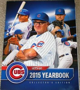 2015 CHICAGO CUBS YEARBOOK COLLECTORS EDITION MINT CONDITION