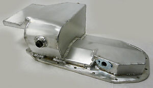 OBX Aluminum Oil Pan 6.25 QT for 1989-1994 Mitsubishi Eclipse 2.0L Turbo 4G63T