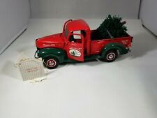 Franklin Mint 1940 Ford Pick Up Christmas Truck Tree Green Red Die-Cast 1:24