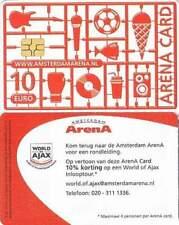 Arenakaart A112-01 10 euro: Zomer 2010
