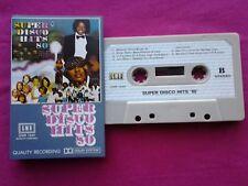 Ultra Rare K 7 / Cassette / Super Disco Hits 80