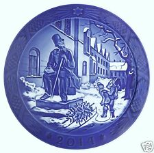 ROYAL COPENHAGEN 2014 Christmas Plate – Hans Christian Andersen - NEW IN BOX!