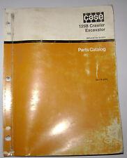 Case 125B Crawler Excavator Parts Catalog Manual Book 8-2974, printed 1990