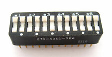 12-Position DIP Switch: Rocker Type: Hard to Find Item